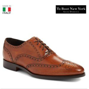 To Boot New York Cognac Leather Men's Oxford